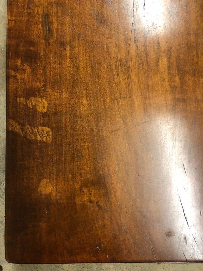 Cherry Slab Wood Coffee Table - 4