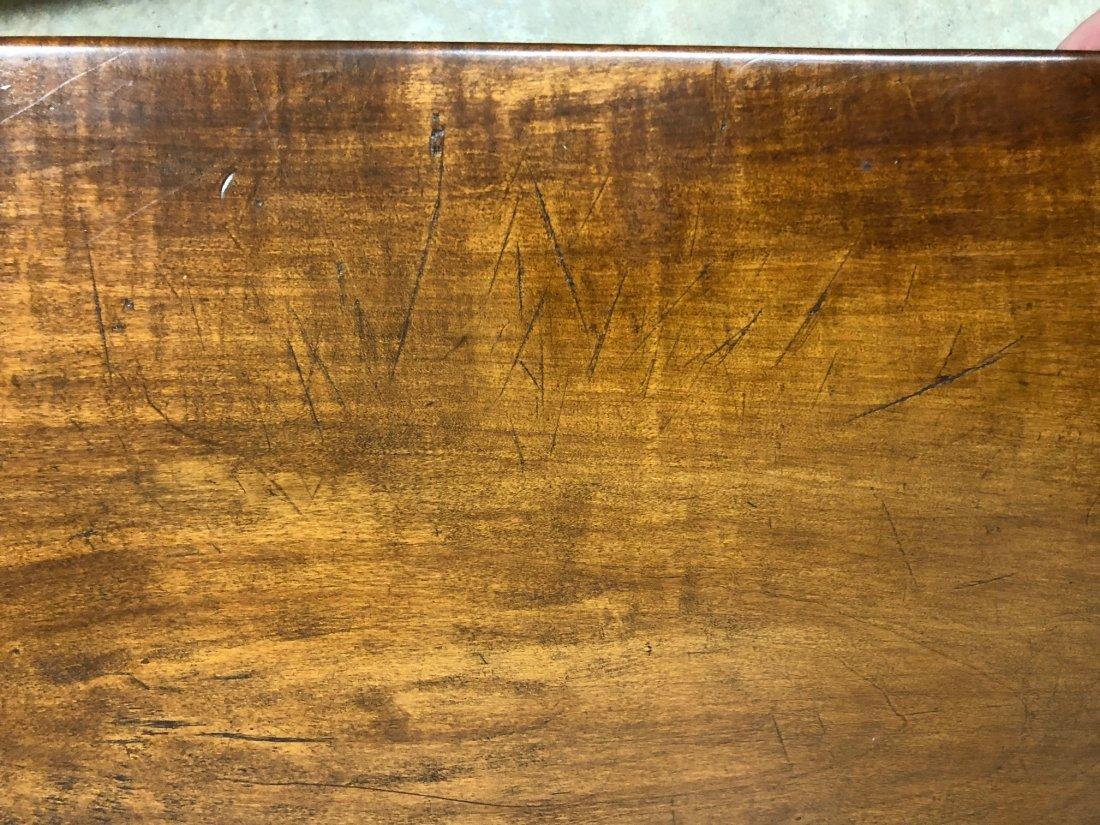 Cherry Slab Wood Coffee Table - 5