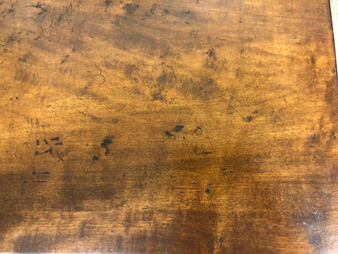 Cherry Slab Wood Coffee Table - 7