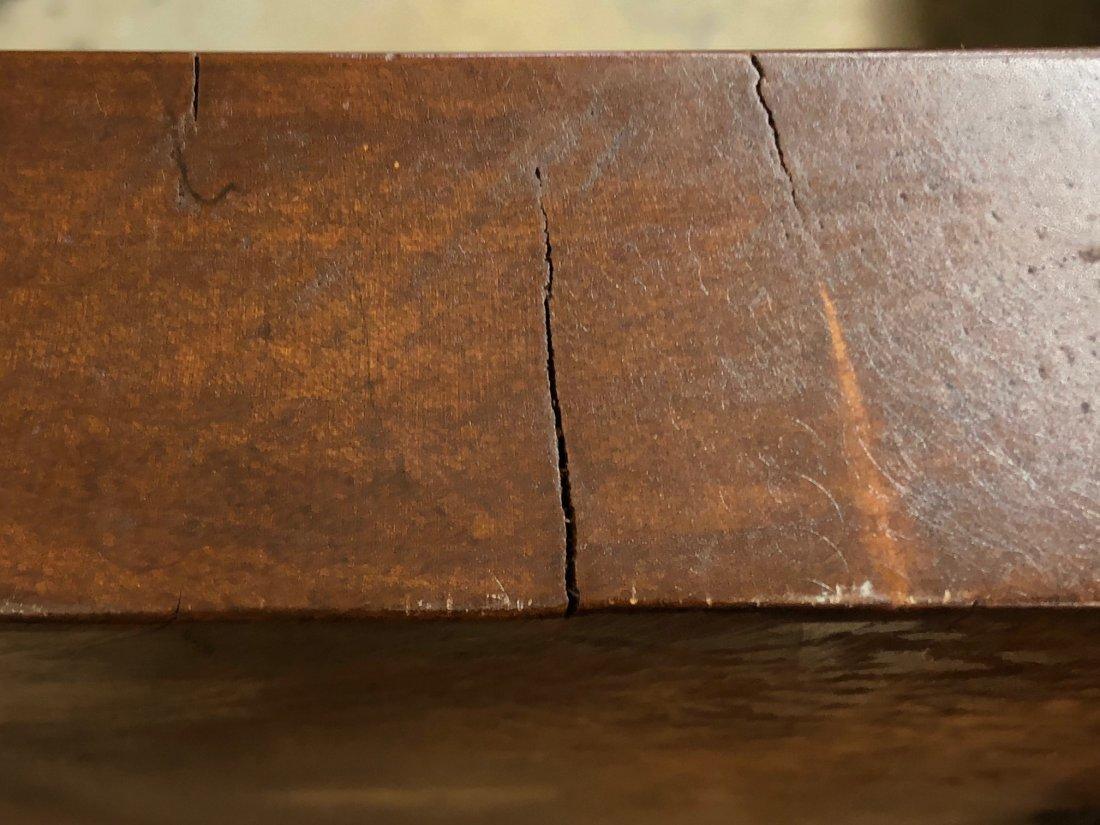Cherry Slab Wood Coffee Table - 8