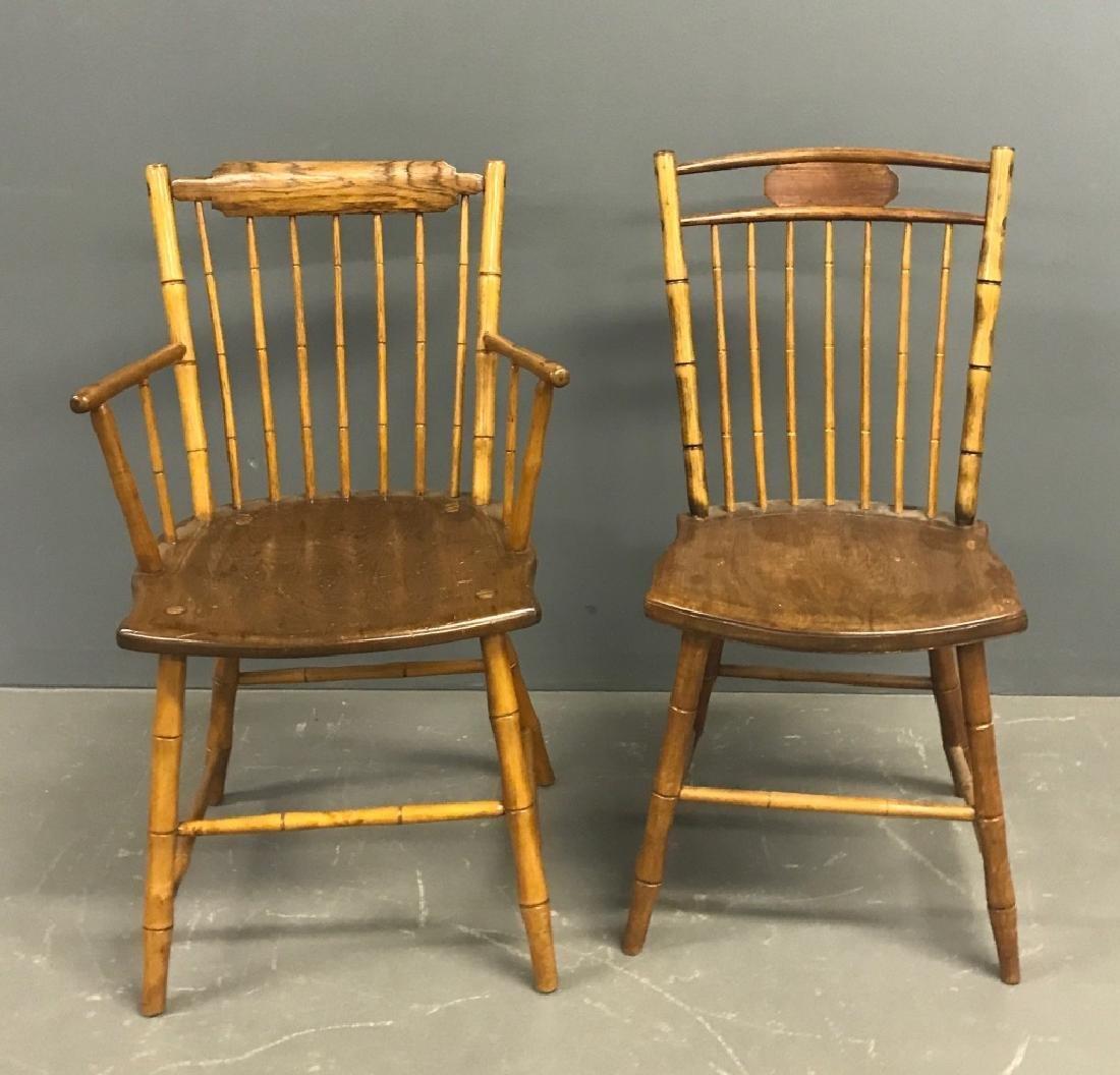 Two Philadelphia Windsor Chairs - 2