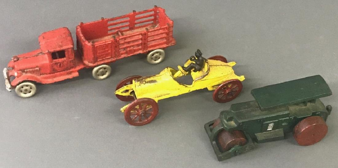 Cast Iron Toy Vehicles