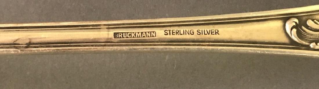 Bruckmann German Sterling Silver Flatware Service - 3