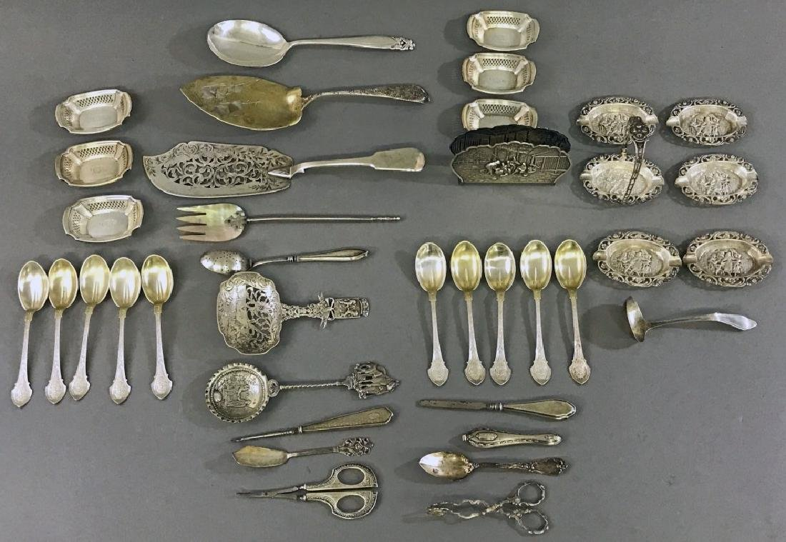 Silver Tableware Grouping