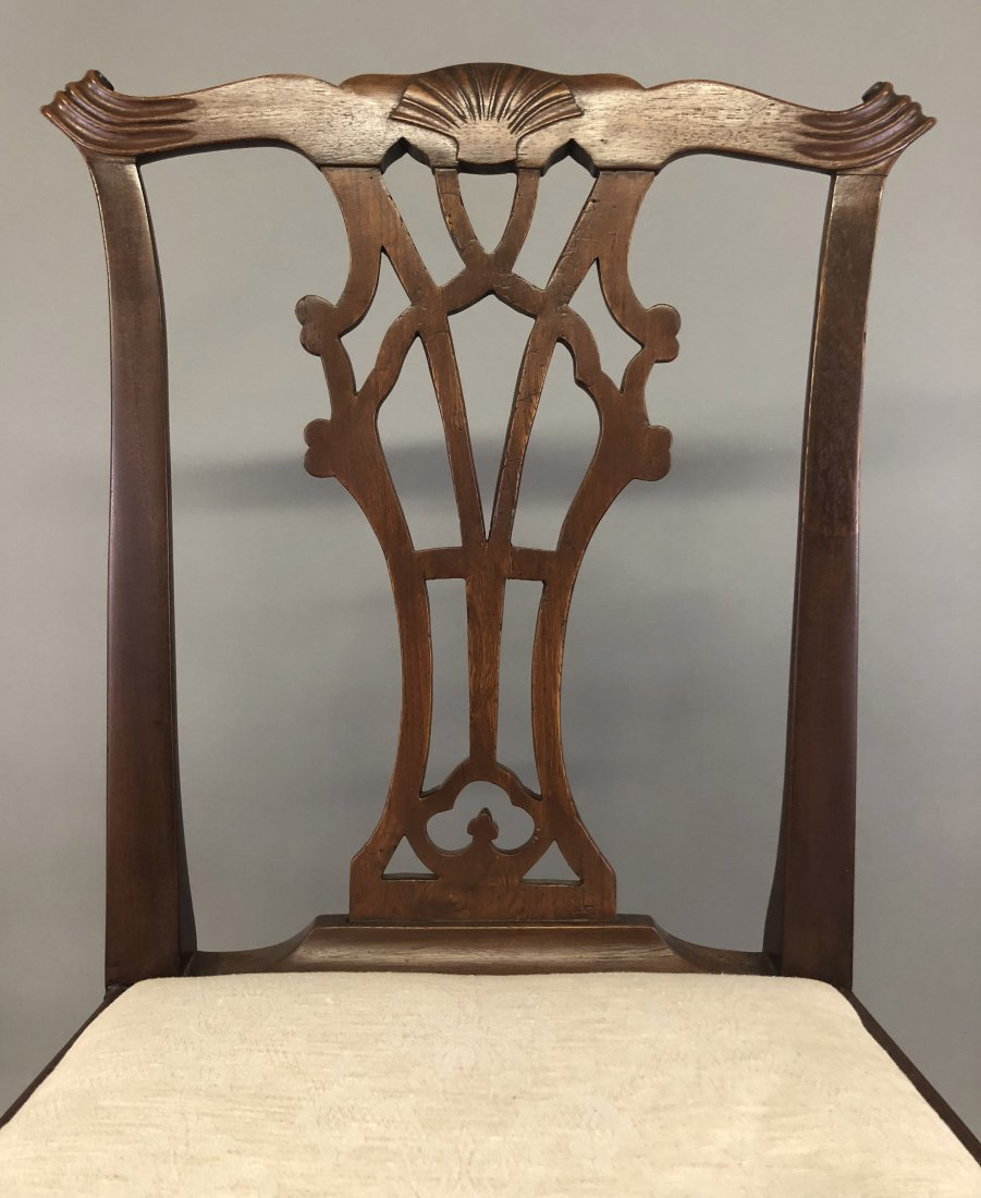 Chippendale Mahogany Side Chair - 2