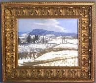 187: Baum, Walter Emerson [American, 1884-1956] oil on