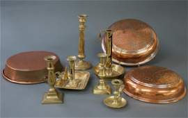 Brass and Copper Tableware