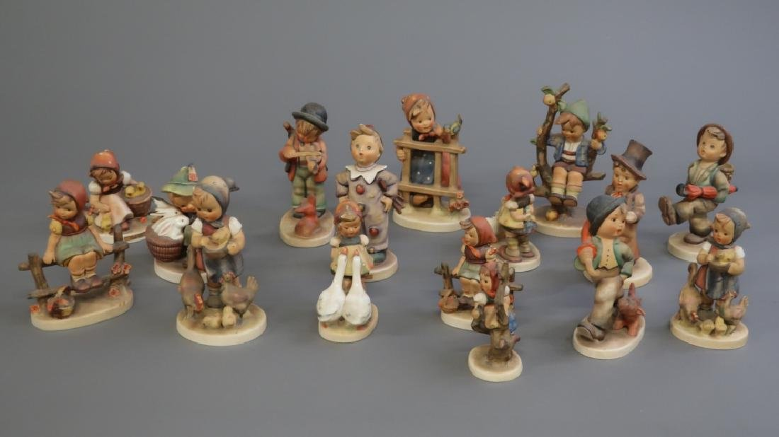 Sixteen Hummel Figurines
