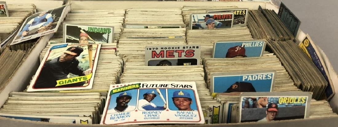Large Collection of Vintage Baseball Cards - 2