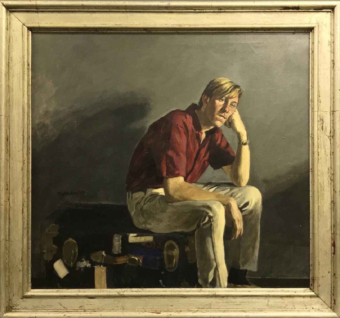 Magtalit Laar Oil on Cavas Portrait