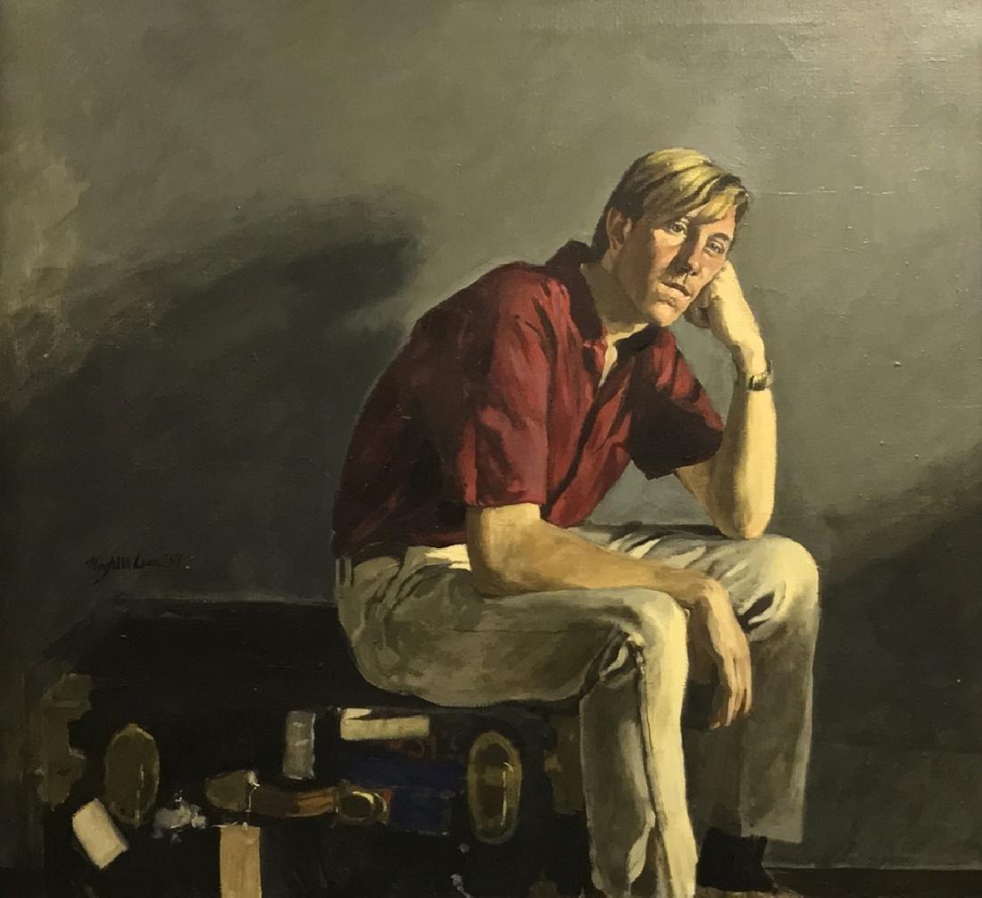 Magtalit Laar Oil on Cavas Portrait - 2