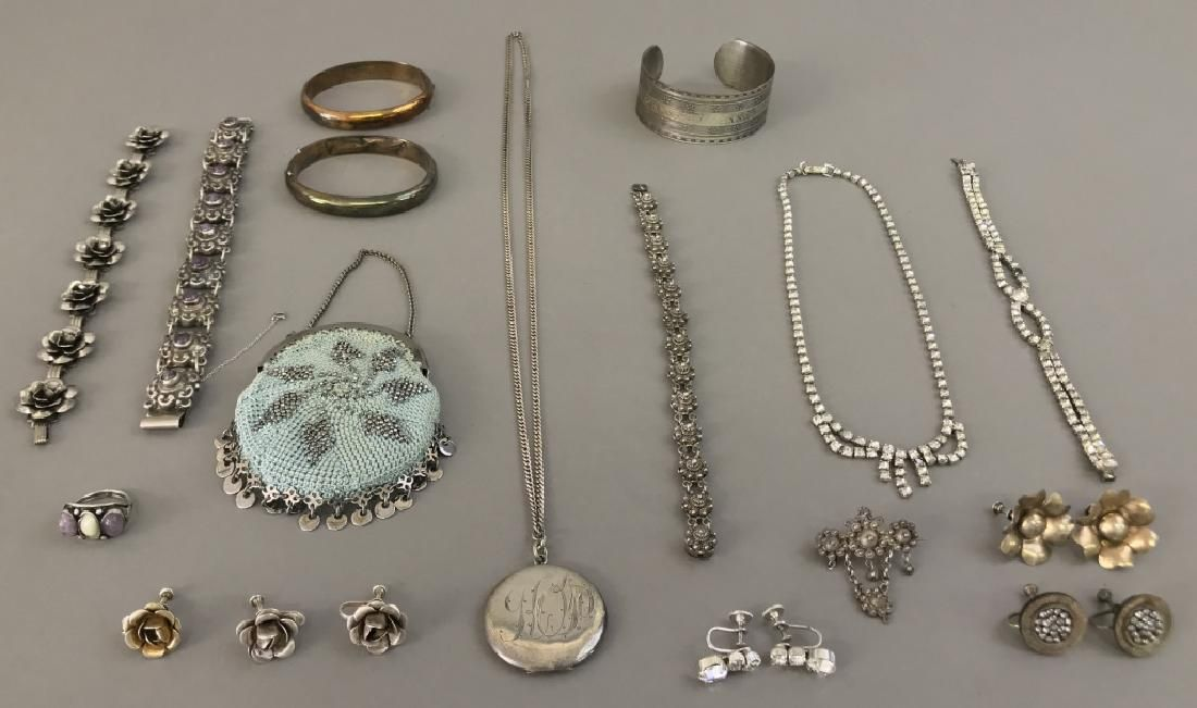 Victorian Ladies Jewelry Grouping