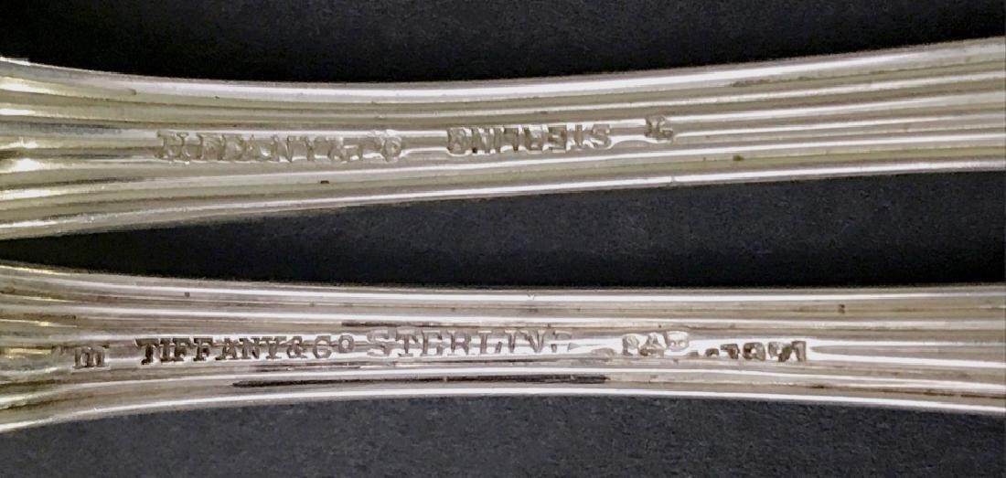 "Sterling Tiffany & Co. ""Audubon"" Pattern Flatware - 3"