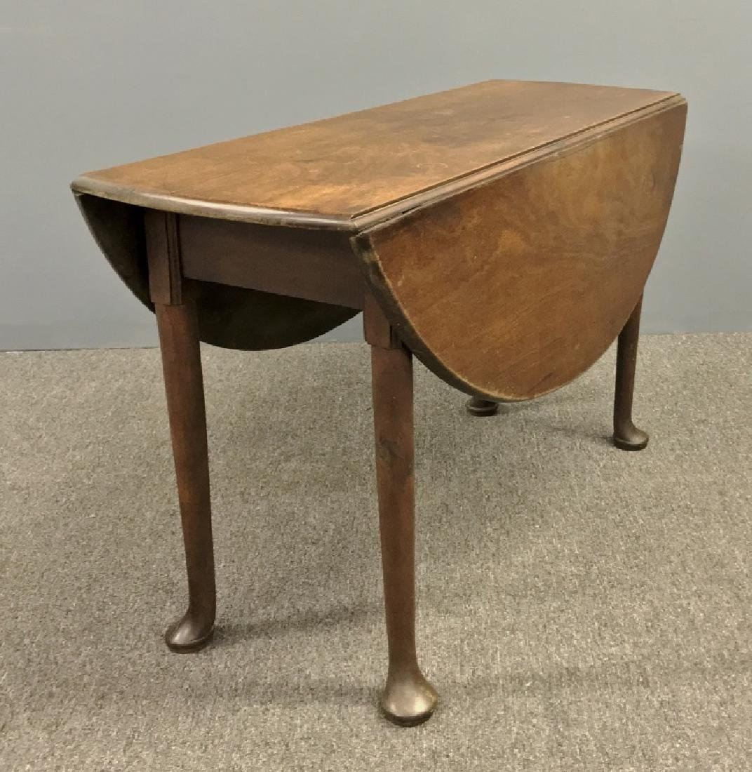 Anglo-Irish Queen Anne Drop-Leaf Table