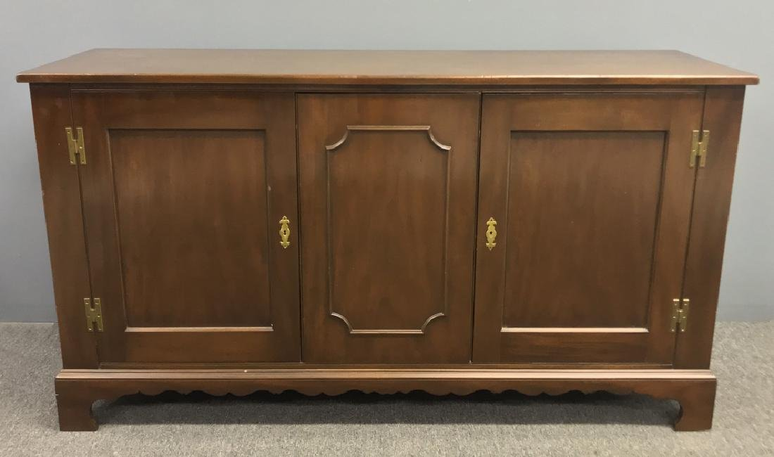 Chippendale Style Mahogany Sideboard
