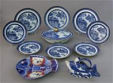 Chinese Porcelain  Nanking Plates and Other Dishes