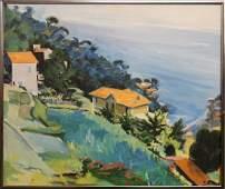 Suzanne Gilliard Porter French Riviera Landscape