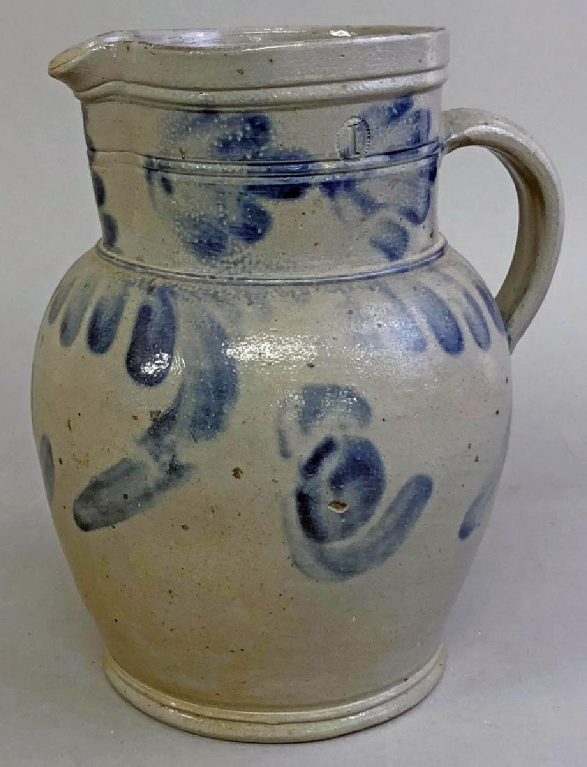 One Gallon Stoneware Pitcher