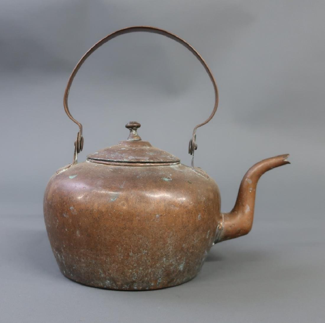 American Copper Kettle, Early 19th c.