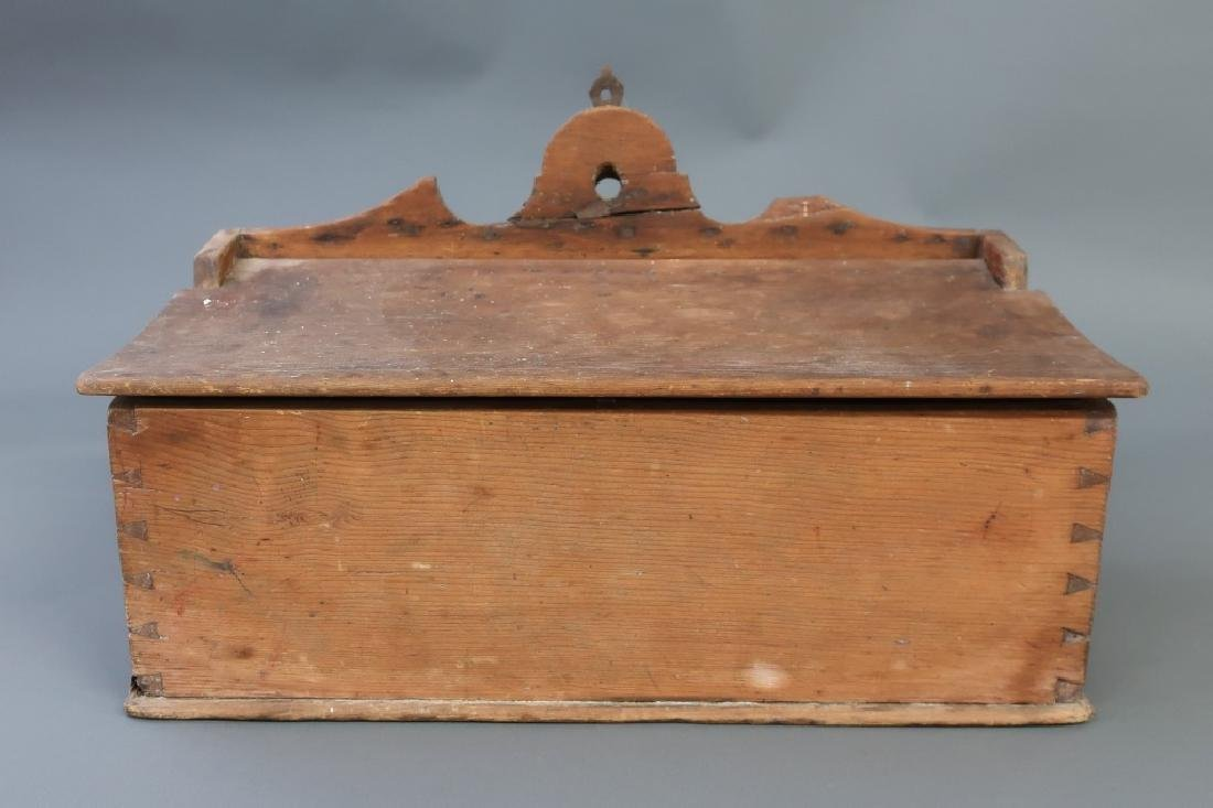 Large Pine Salt Box, Early 19th c.