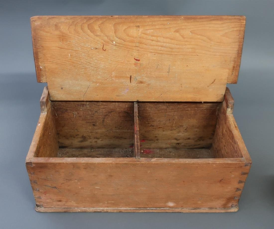 Large Pine Salt Box, Early 19th c. - 2