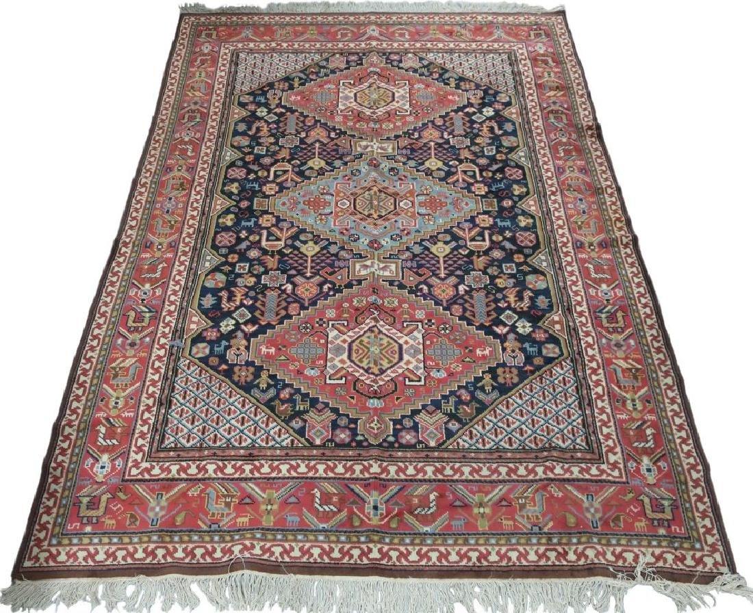 Heriz Type Center Hall Carpet