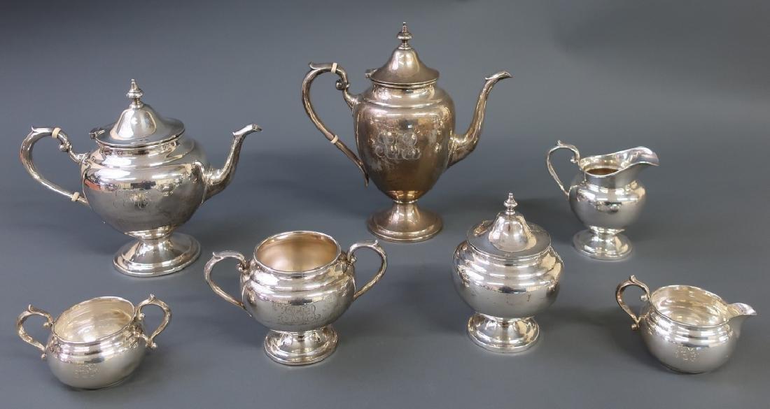 Sterling Silver Tea Service By Gorham