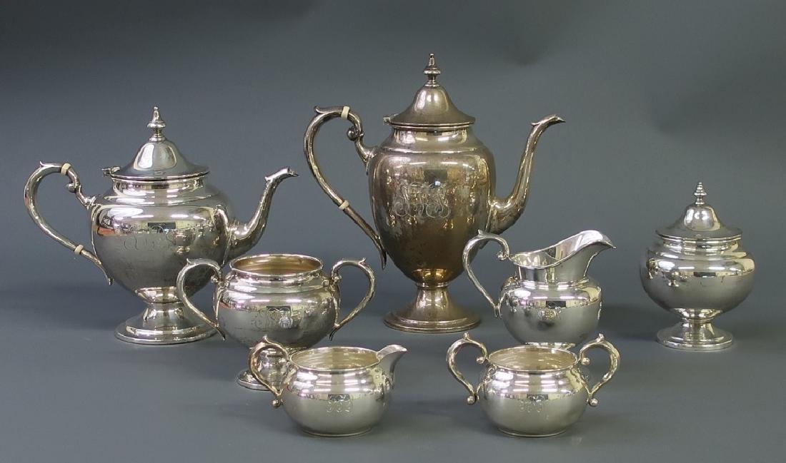 Sterling Silver Tea Service By Gorham - 2