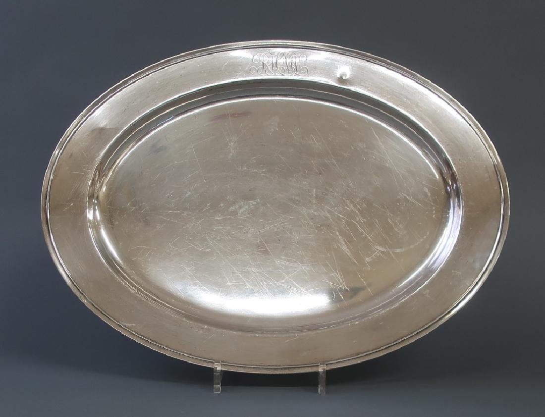 Sterling Silver Oval Platter