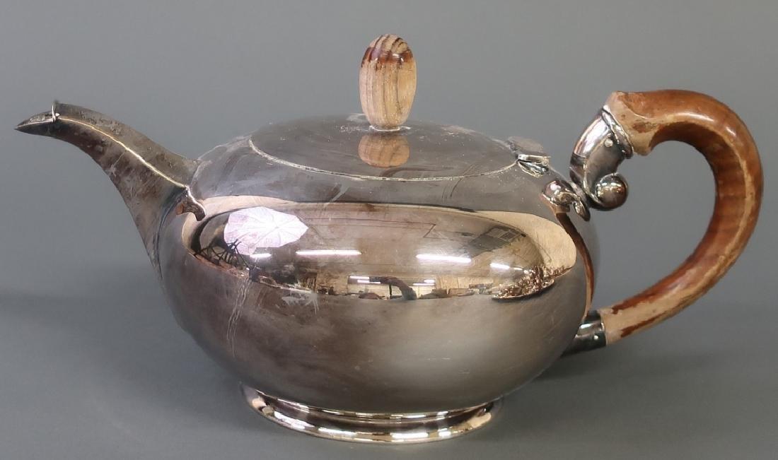 Silver Art Deco Tea Service - 3