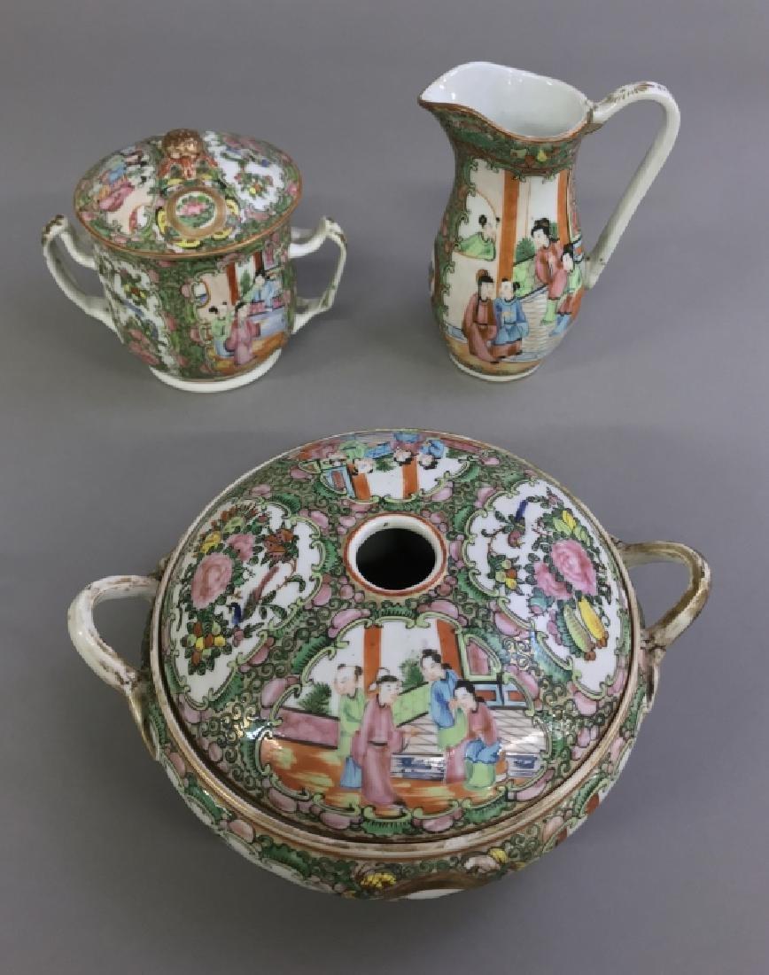 Rose Medallion Tableware, Circa 1850 - 2