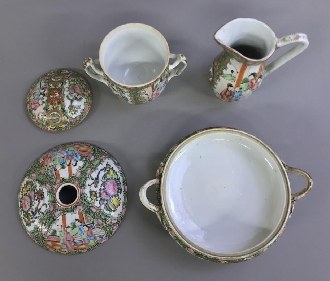 Rose Medallion Tableware, Circa 1850 - 3