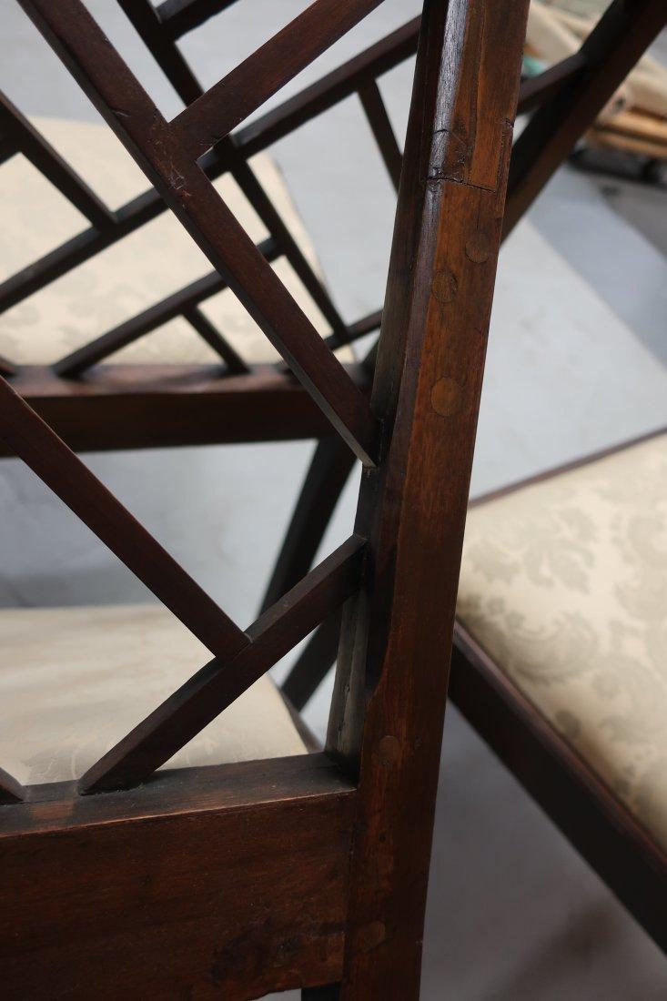 Set of Four Georgian Mahogany Side Chairs - 10