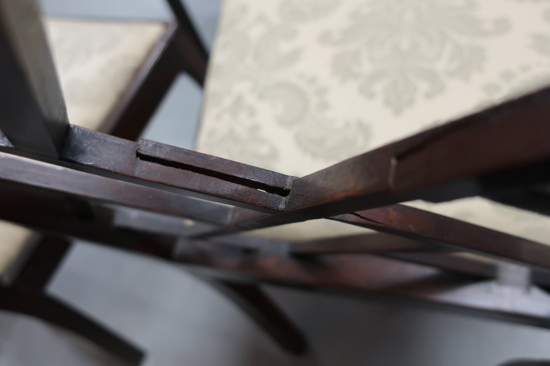 Set of Four Georgian Mahogany Side Chairs - 5