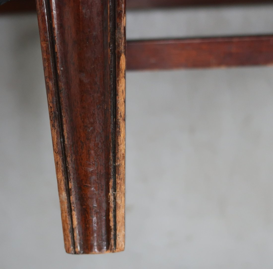 English Chippendale Camelback Sofa - 6