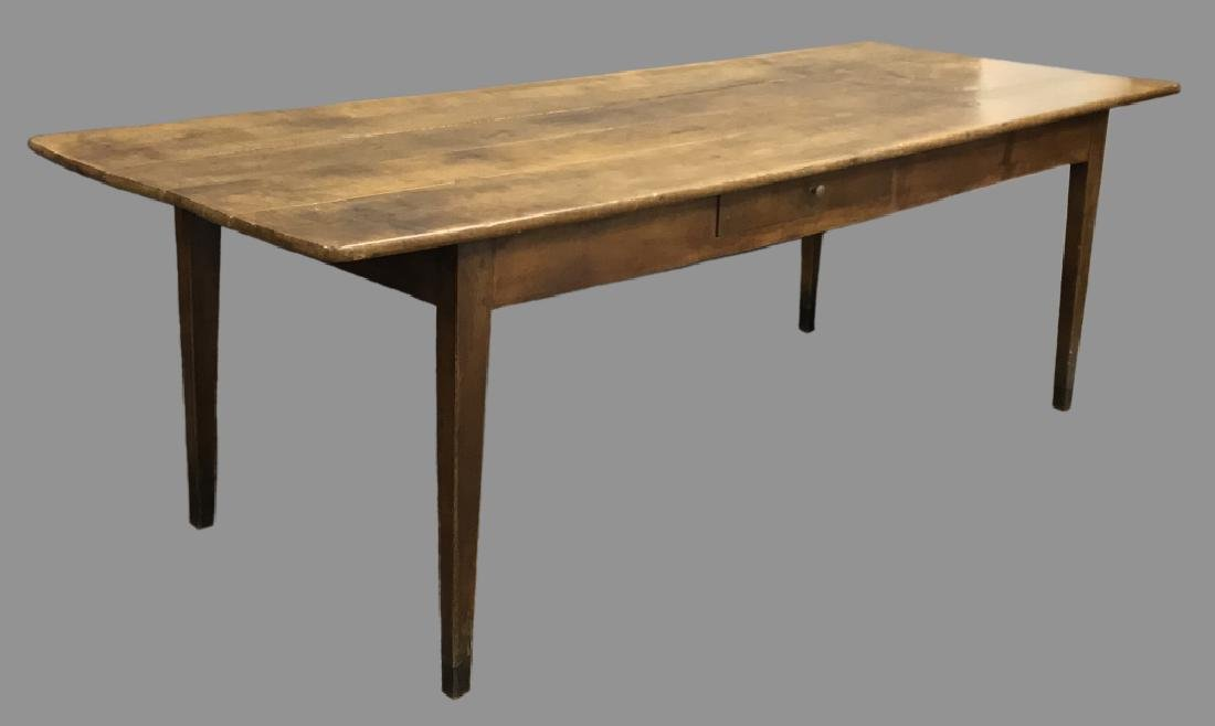 Country Style Walnut Harvest Table