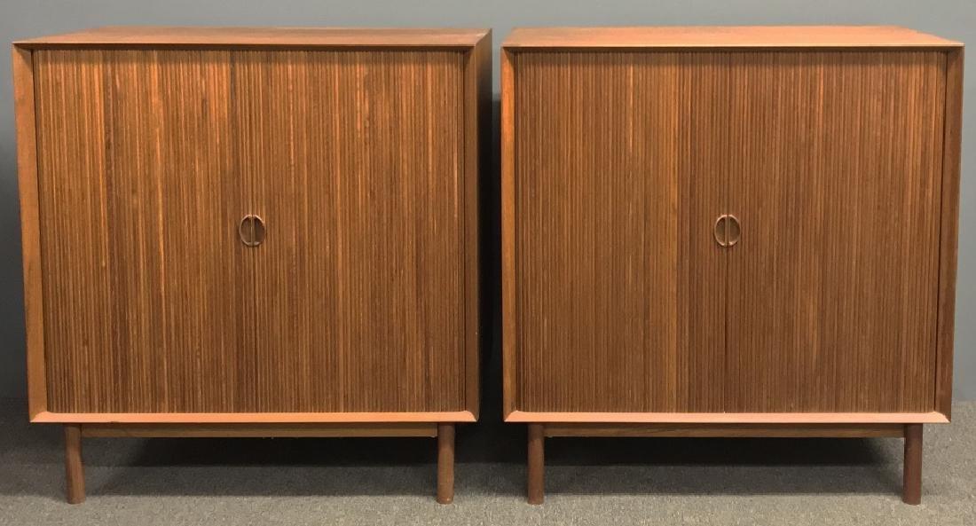 Two Danish Mid-Century Modern Credenzas