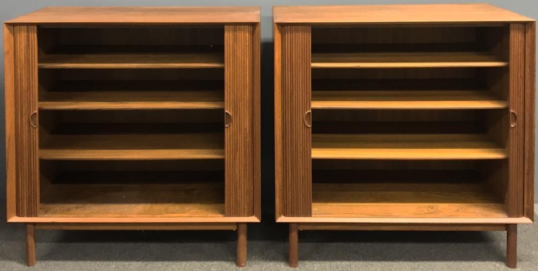 Two Danish Mid-Century Modern Credenzas - 2