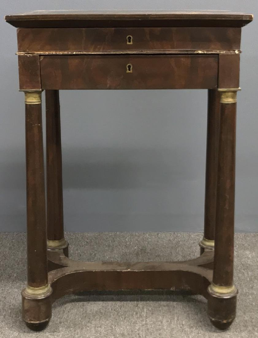 Empire Mahogany Work Table - 2