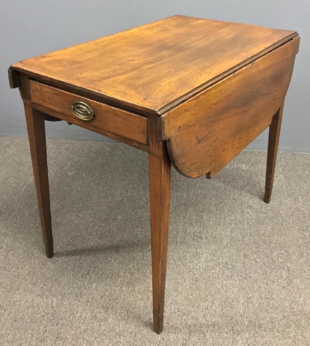 New York Hepplewhite Mahogany Pembroke Table