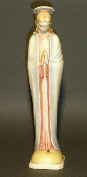 "5: Hummel porcelain figurine of the Virgin Mary. 11.5""h"