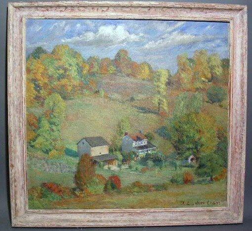 155:  Van Loan, Dorothy [American 1930-1999] oil on can