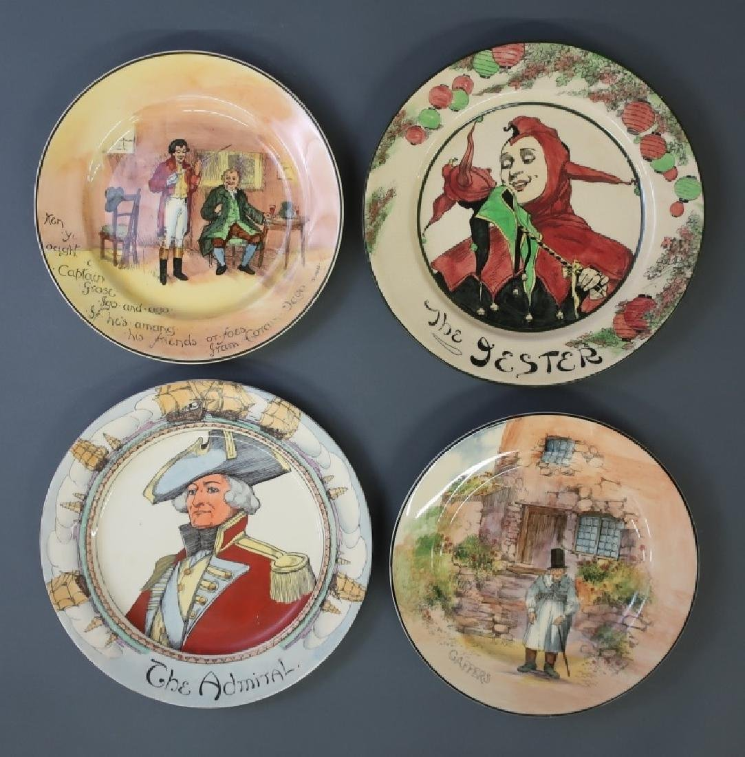 """Four Royal Doulton Plates Including """"The Admiral"""""""