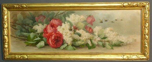 434: de Longpré, Paul [French/American 1855-1911] Victo