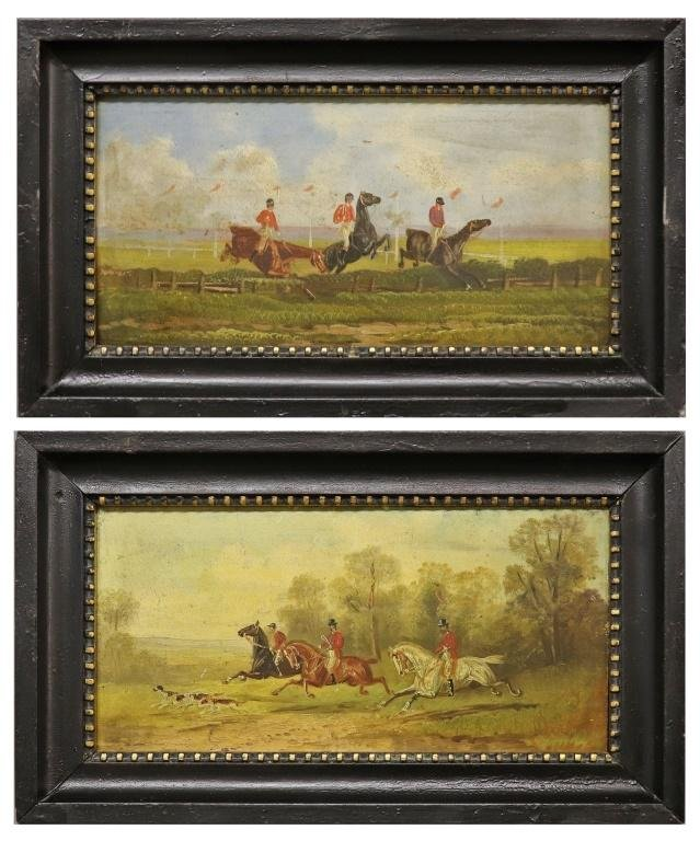 English Equine Oil Paintings