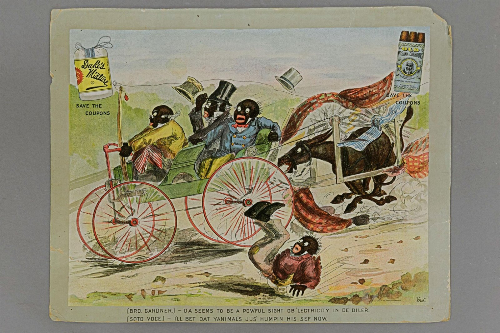 Black Americana Advertising Lithographs