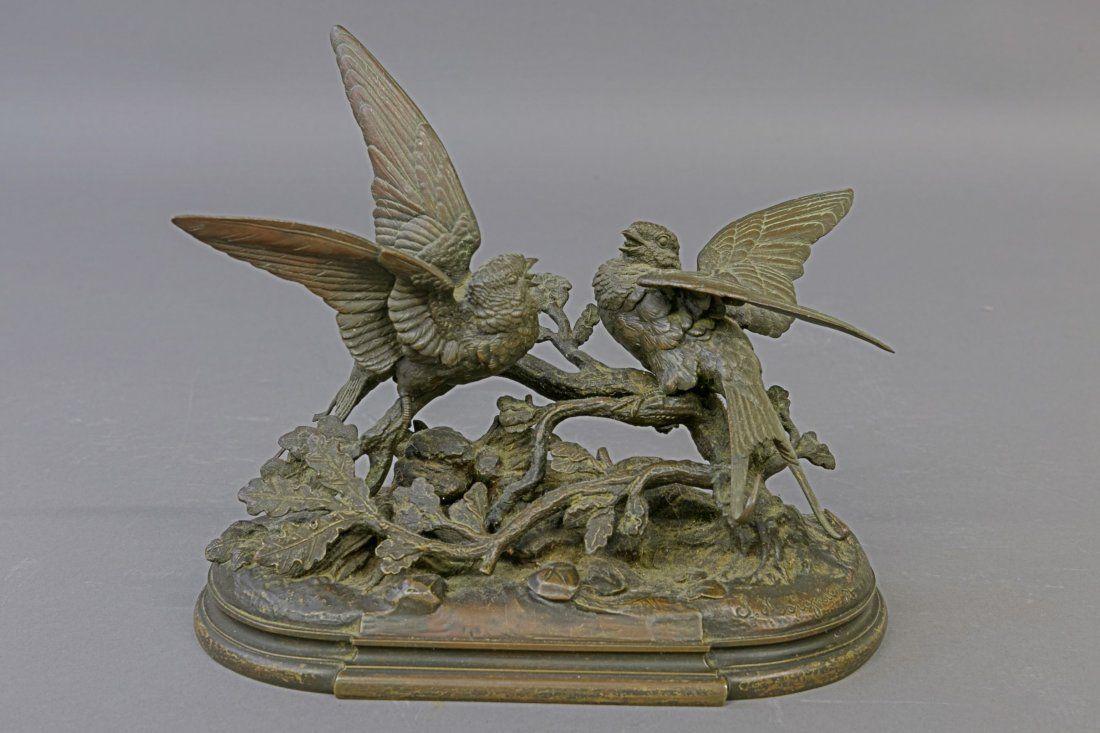 Jules Moigneiz Bronze Sculpture