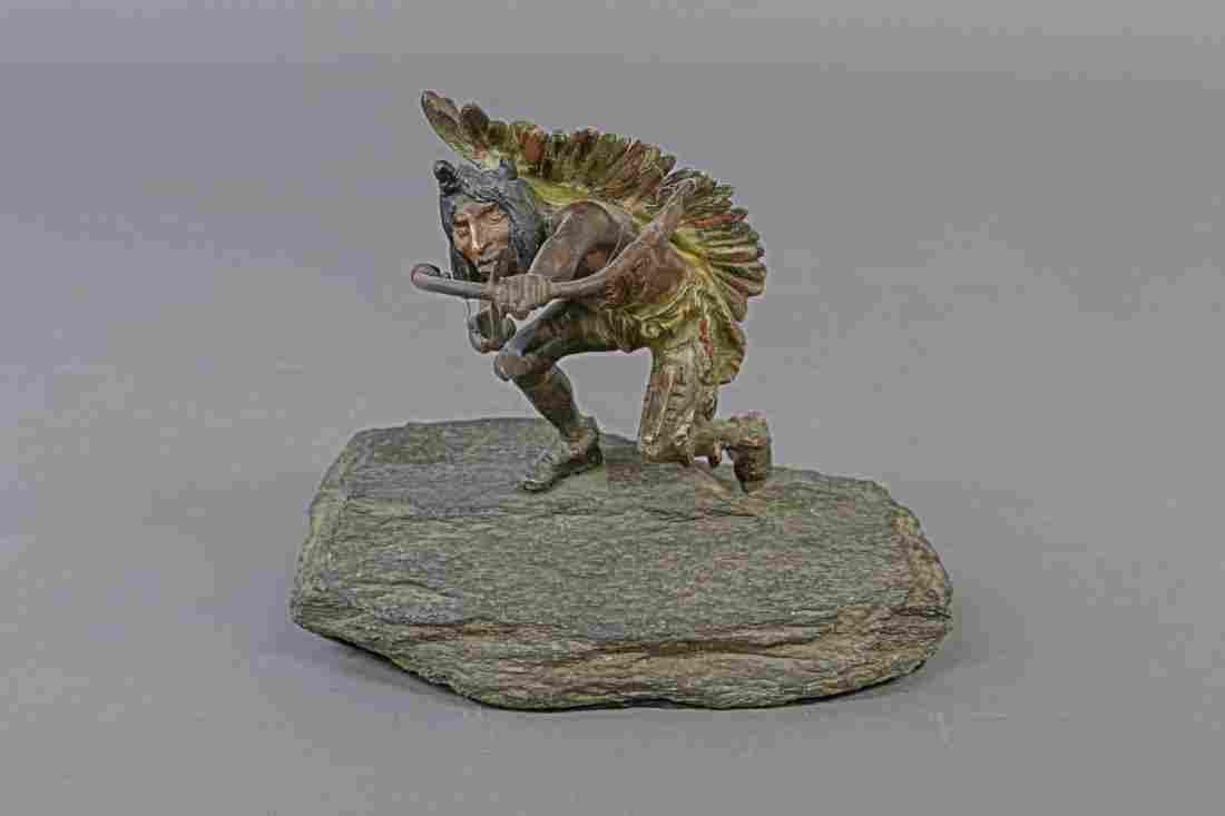 Carl Kauba Vienna Cold Painted Bronze