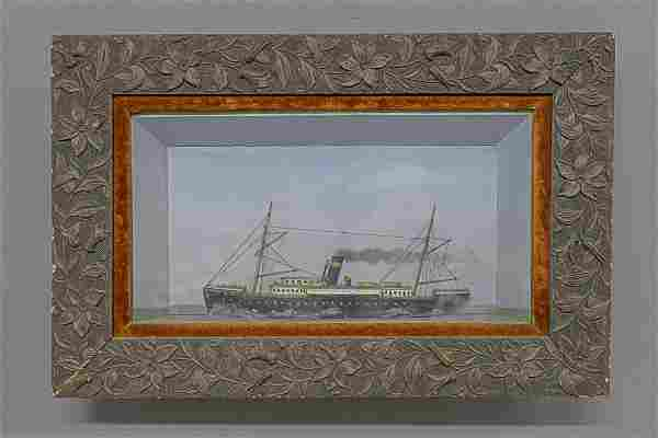 Steamship Diaroma