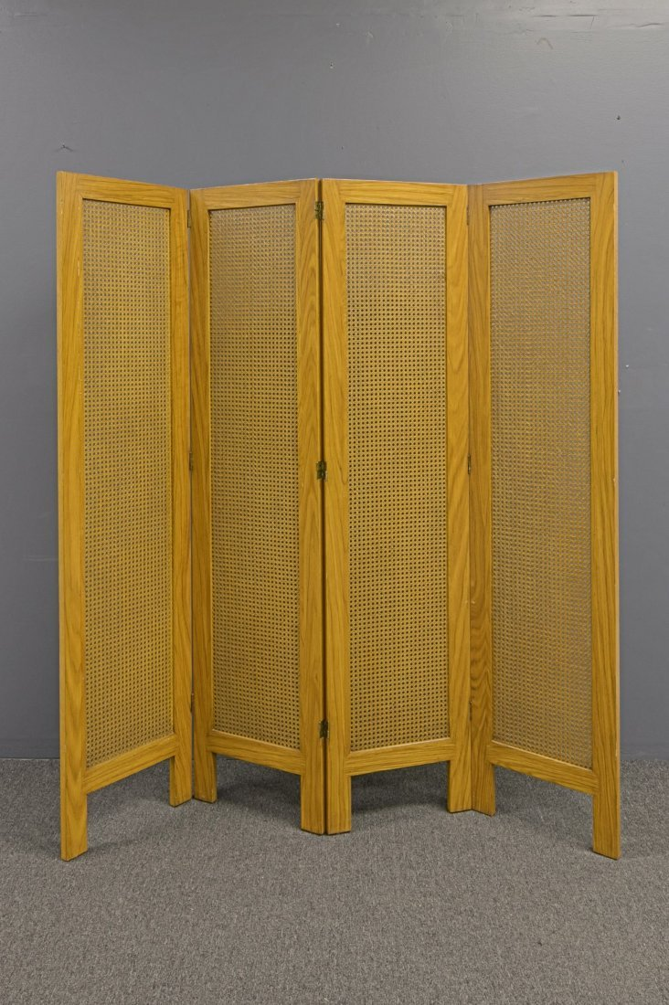Danish Mid-Century Modern Folding Screen